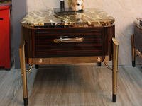 Good Quality Natural Stone Top Table Marble Side Table